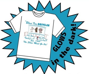 Blue Fox Drive-In T-shirt sale