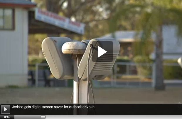 Link to video about Australia's Jericho Drive-In