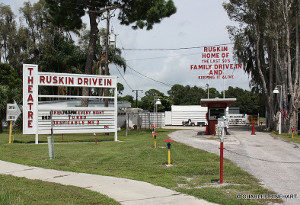 Ruskin Drive-In marquee