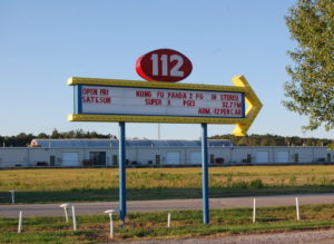 112 Drive-In marquee