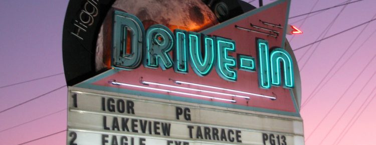 Moonlite Drive-In marquee