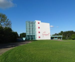 Springmill Drive-In screen tower