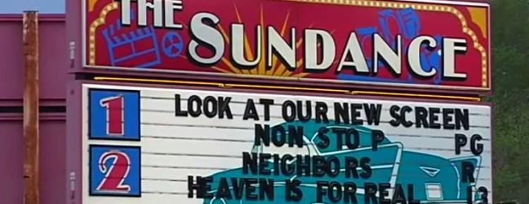 Sundance Kid Drive-In marquee