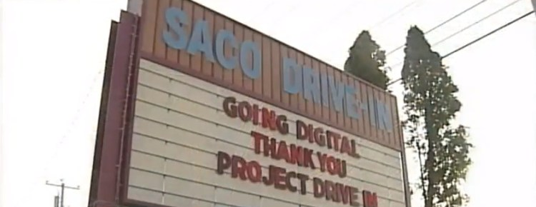 Saco Drive-In marquee
