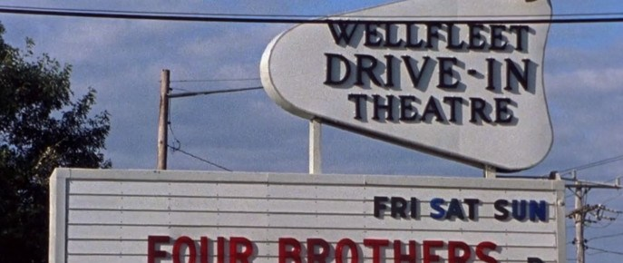 Wellfleet Drive-In marquee
