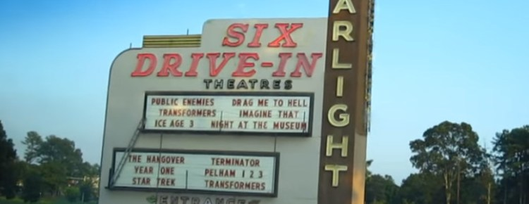 Starlight Six Drive-In marquee