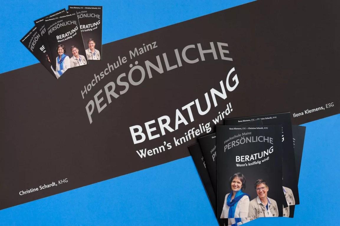 Öffentlichkeitsarbeit: Erscheinungbild für die Kirchen an der Hochschule Mainz