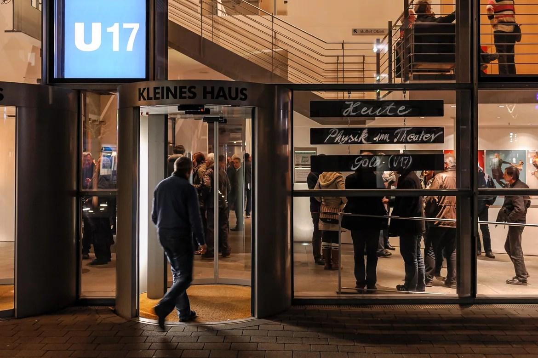 Fotografie: Dokumentation der Veranstaltung Physik im Theater