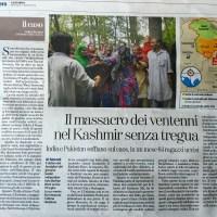 Il massacro dei ventenni nel Kashmir senza tregua