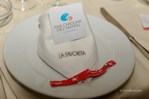 Cóctel, cena, ópera y subasta solidaria en La Favorita