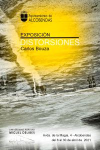 Cartel Exposicion Distorsionesen Alcobendas