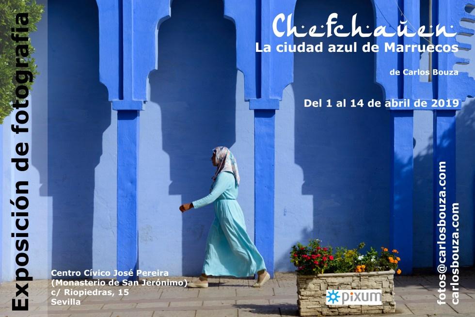 """Exposición """"Chefchauen, la ciudad azul de Marruecos"""" en el Monasterio de San Jerónimo de Sevilla"""