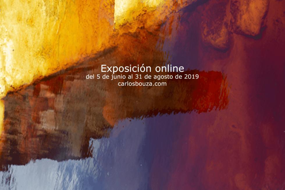 Cartel exposición de fotografía online Distorsiones