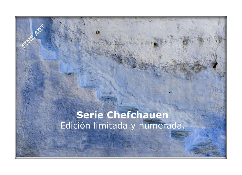 Serie Chefchauen en edición limitada y numerada impresas en calidad Fine Art