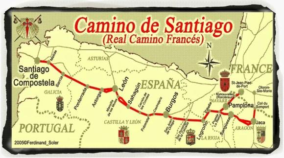 Caminho de Santiago Frances