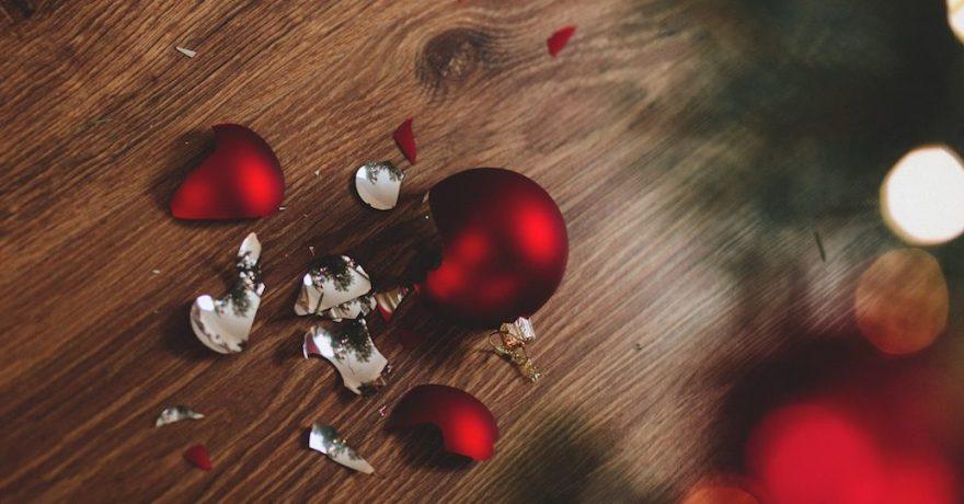 Preludio de Natal - bola de natal quebrada