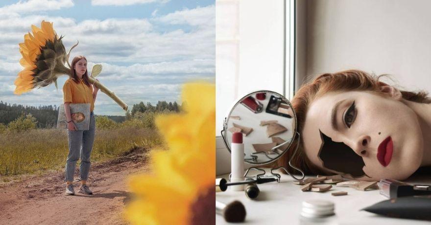 O surrealismo de Alexandra Chertulova