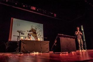 Stand Up Ilustrado - Ricardo Liniers y Alberto Montt en Hay Festival 2017. Foto: Rafael Bossio | Canal Cultura ©