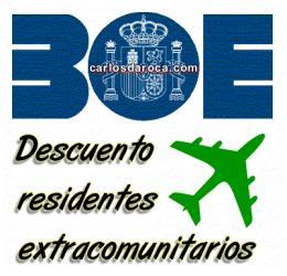 ¡Los extracomunitarios ya pueden viajar con el descuento de residente!