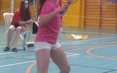 Júlia Florit finaliza la temporada ganando dos TTRs de badminton