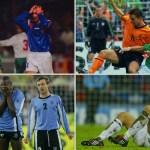 Holanda y otros fracasos en Mundiales y Eurocopas