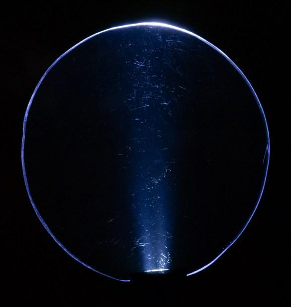 Plexy shape circular, ejemplo 1 destello