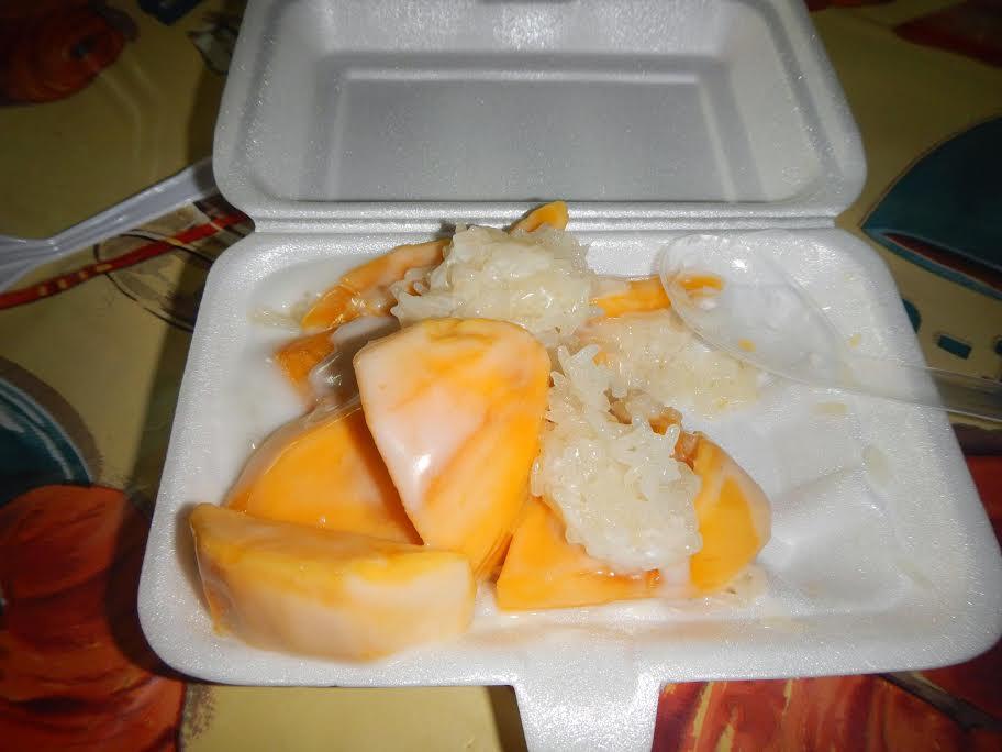 Mango sticky rice Chiang Mai