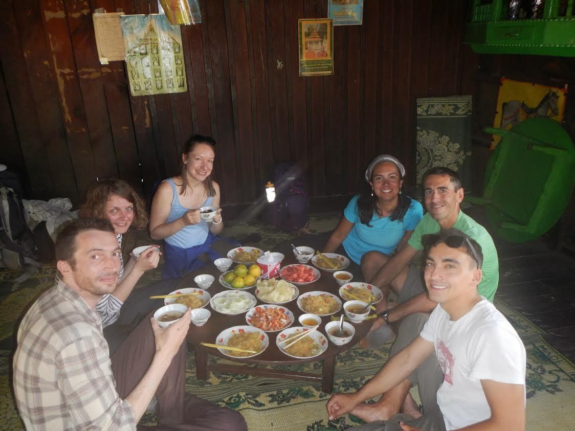 Trekking Kalaw-Inle