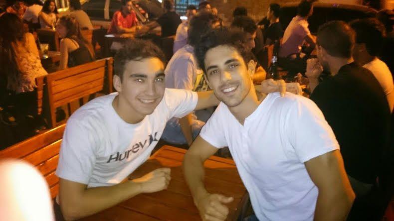 Con mi amigo Fabri!