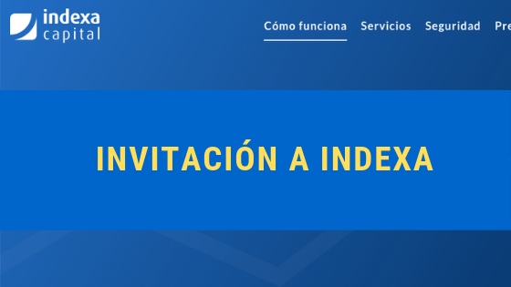 Invitación a Indexa Capital: link