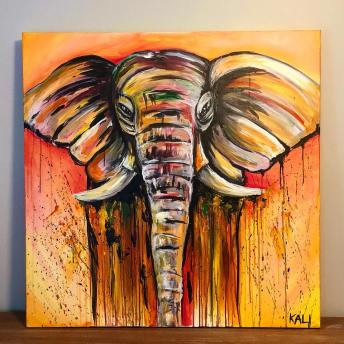 Kali_elephant_painting