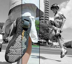 Zapatillas con ruedas caidas fisioterapia osteon alaquas valencia