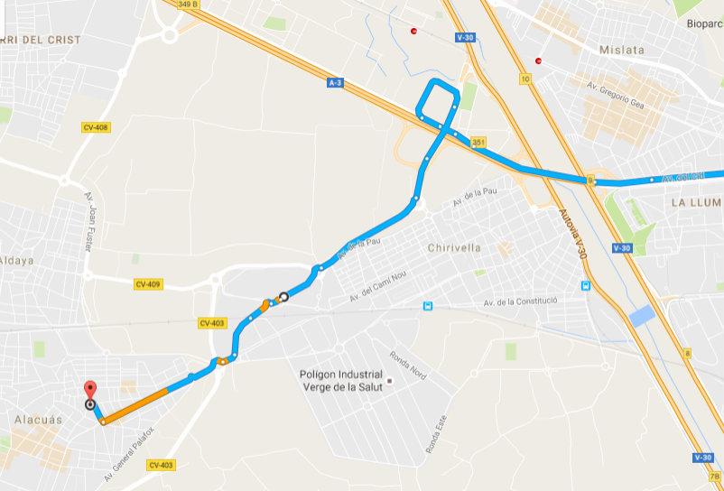 mapa osteon Valencia A3