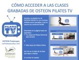 acceso clases grabadas osteon pilates tv