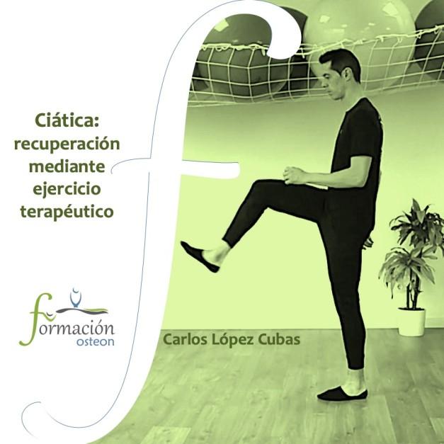Ciática: recuperación mediante ejercicio terapéutico curso online pacientes