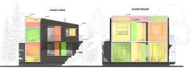 fachadas lateral y principal