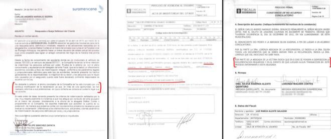 Seguros Sura dice que no ha recibido documentos cuando se le entregaron hace más de dos años