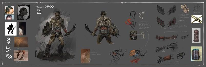 Concept Orco - Carta de personaje - CarlosNCT