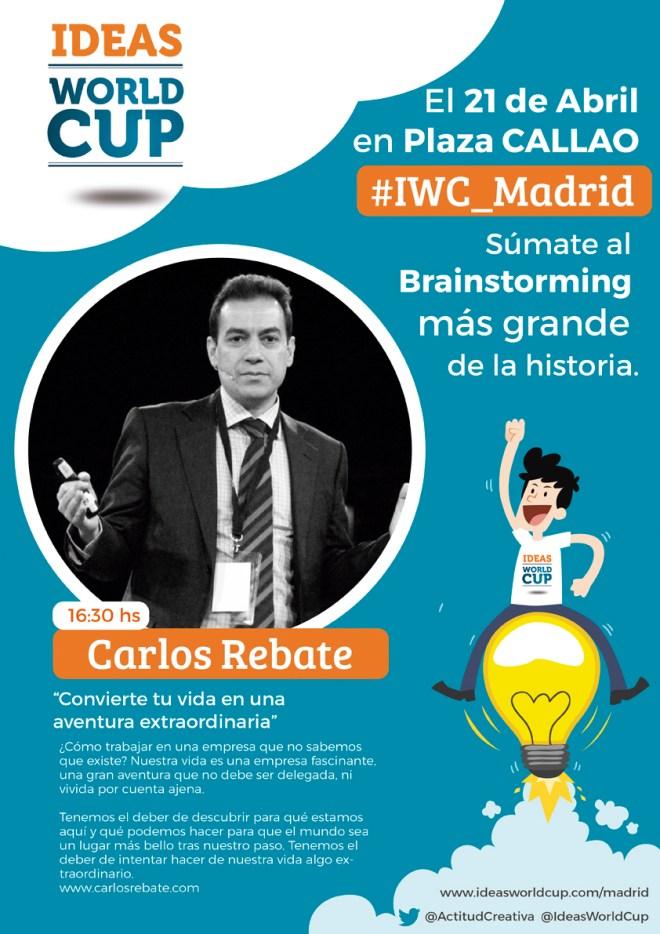 Ideas world cup Carlos Rebate