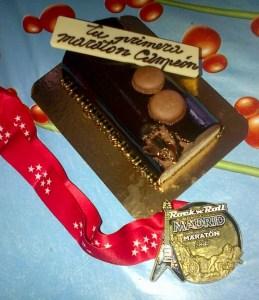 Tres tartas de chocolate