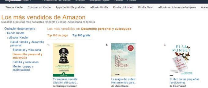 ¡Somos nº 1 en Amazon!
