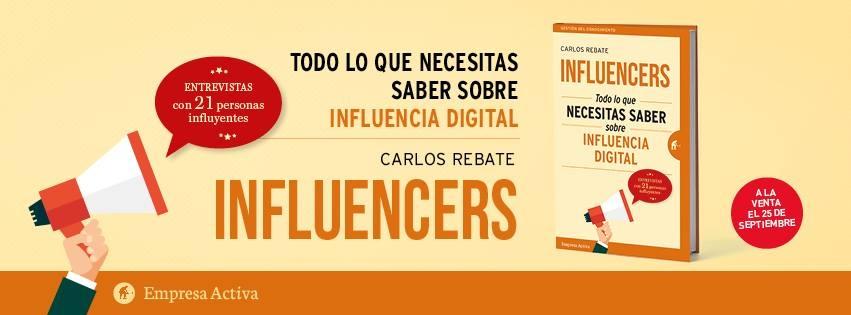 Influencers, anuncio presentación