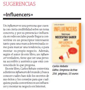 La Voz de Galicia Carlos Rebate Influencers