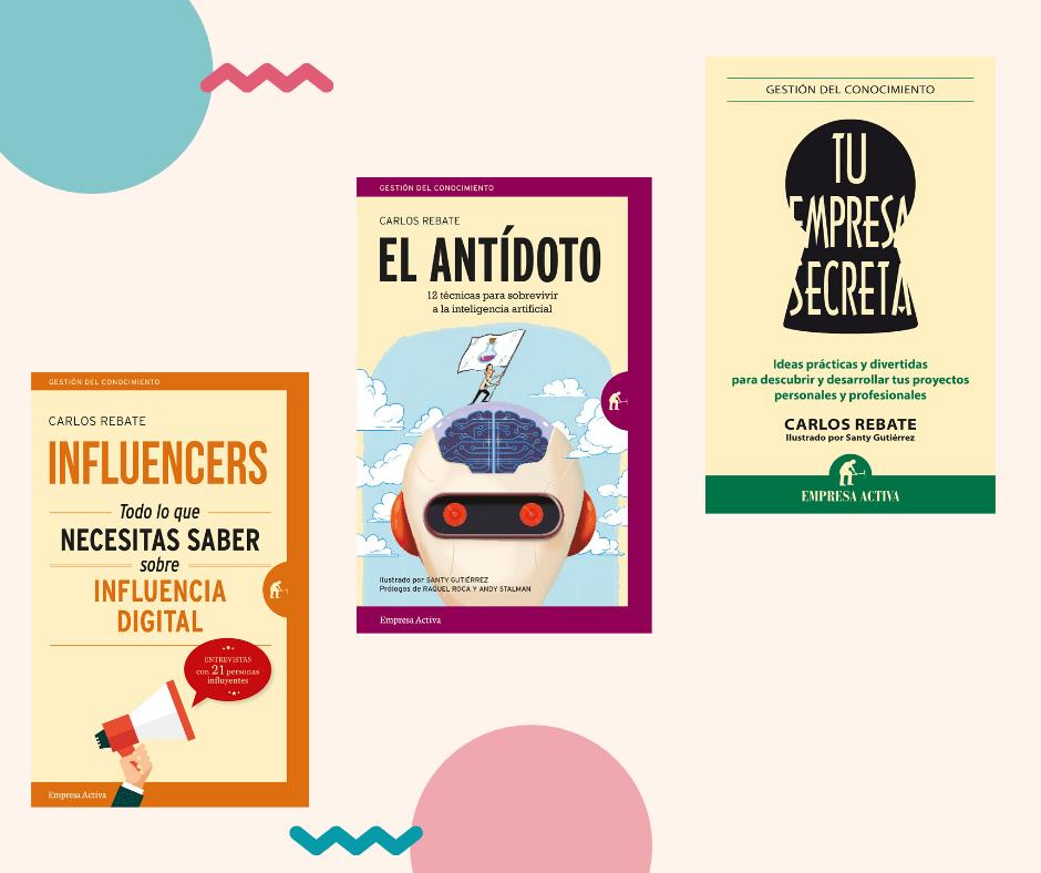 Libros Carlos Rebate