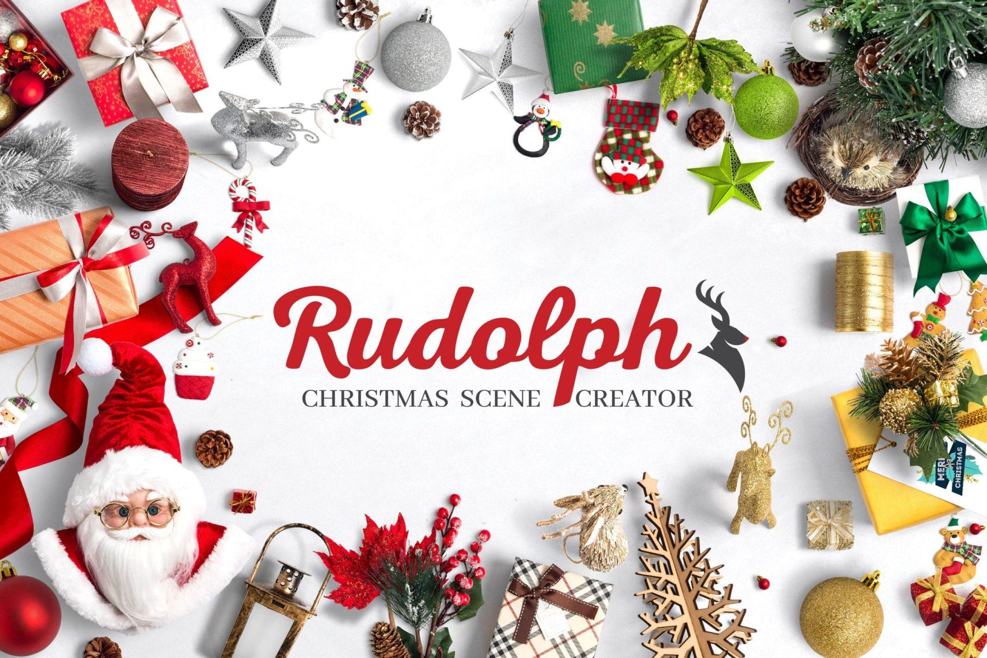 Rudolph Christmas Scene Creator