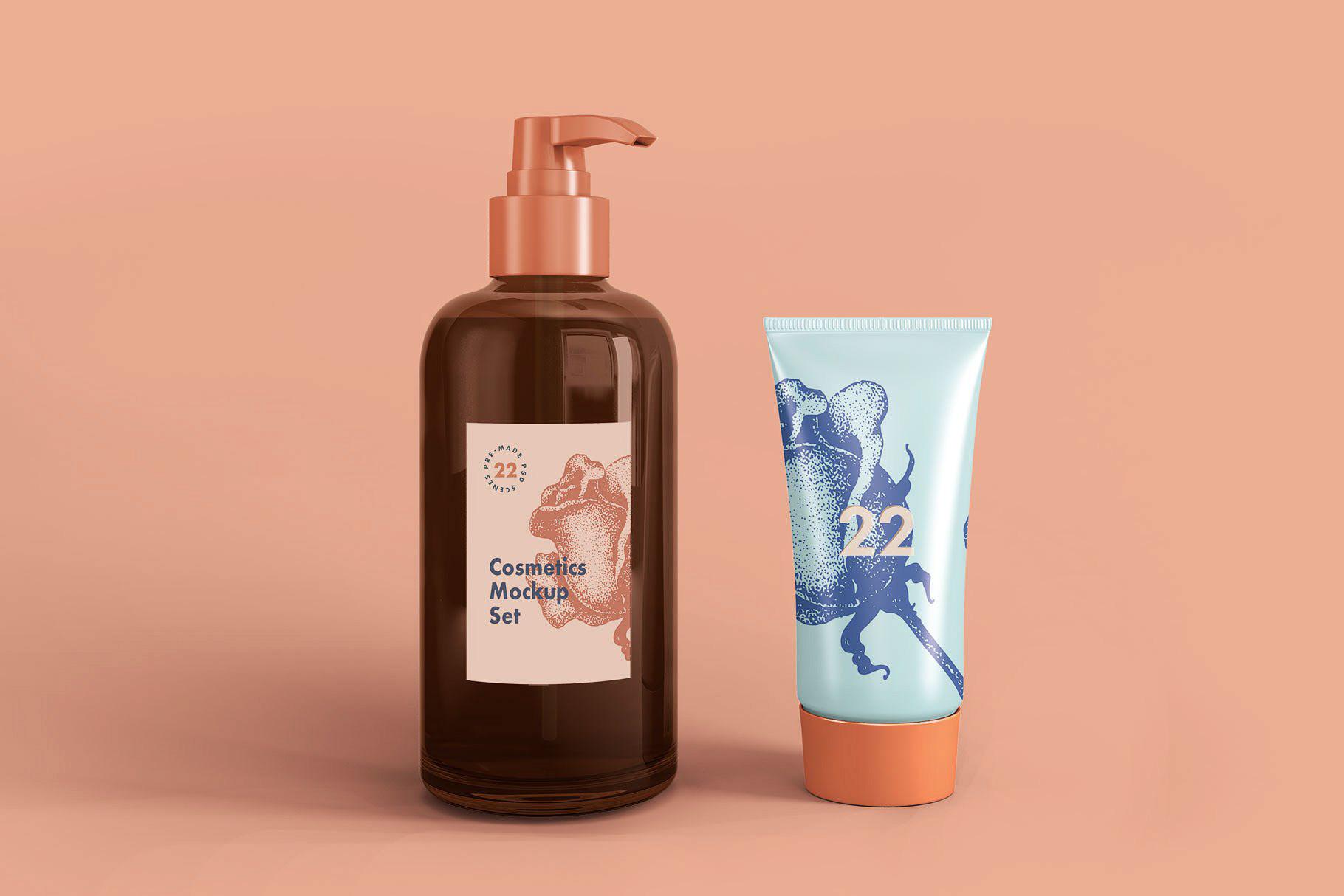 Free Cosmetic Mockup