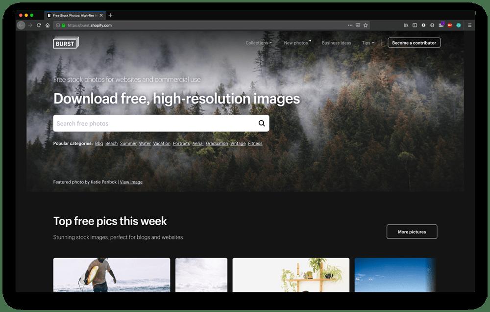 Top Free Stock Photo Sites - Burst