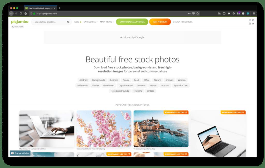 Top Free Stock Photo Sites - Picjumbo