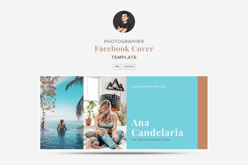 Photographer Facebook Cover Template