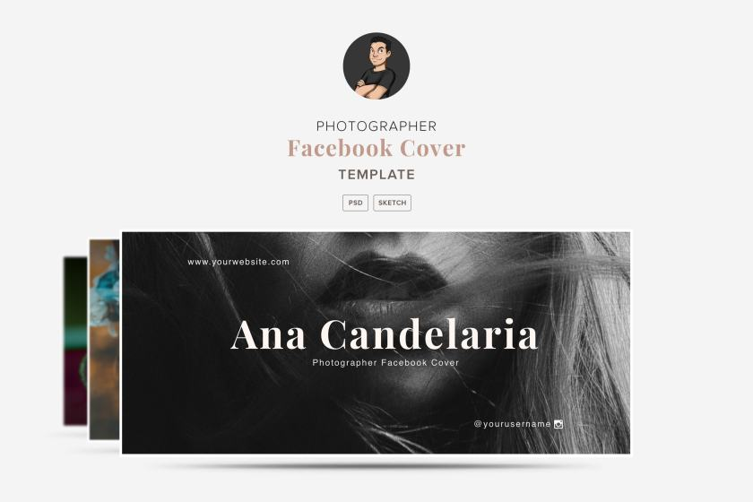 Ana Candelaria – Facebook Cover Template